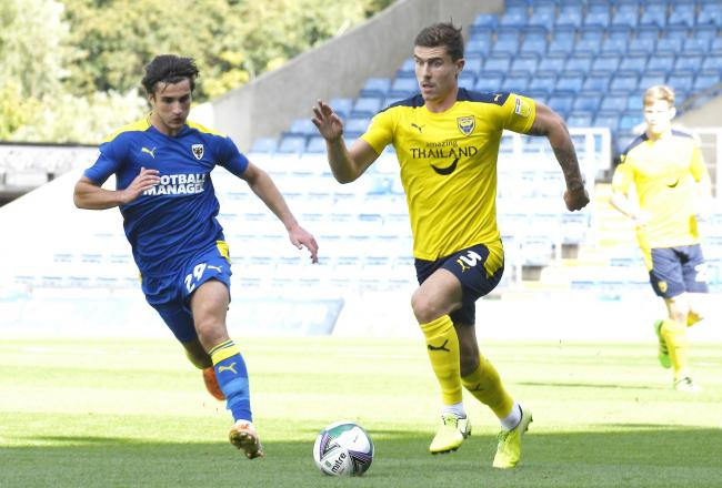 Oxford United's Josh Ruffels is making good progress in his recovery from a shoulder injury   Picture: David Fleming