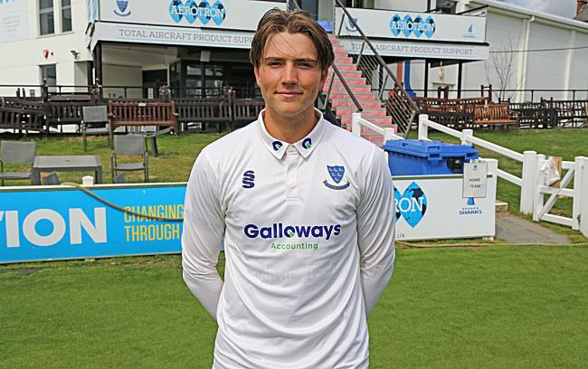 James Coles Picture: Sussex Cricket