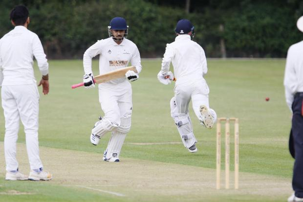 Amin Rafiq excelled with bat and ball for Garsington & CowleyPicture: Ed Nix