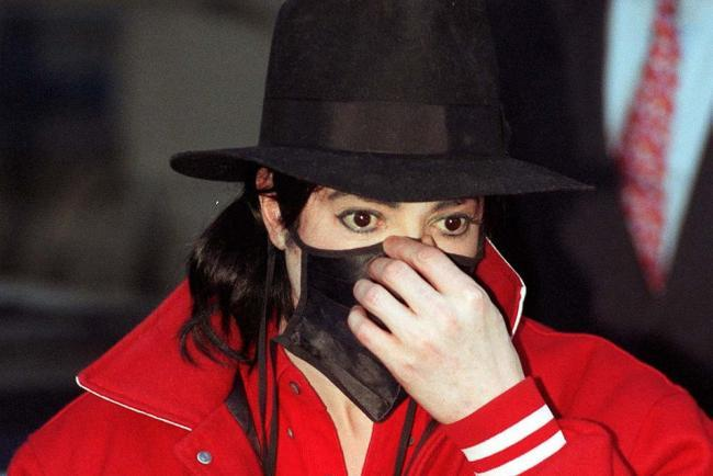Why did Michael Jackson visit the Oxford Union to talk about child welfare?
