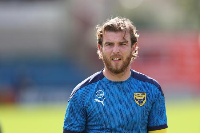Sam Winnall is in line to make his Oxford United debut at Gillingham tomorrow, a month after signing for the club   Picture: James Williamson
