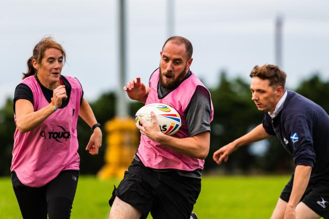 Chinnor have been hosting touch rugby sessions since last month