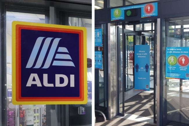 File pic of Aldi and the new covid measures