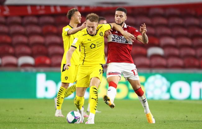 Marcus Browne in action for Middlesbrough in the Carabao Cup against Barnsley last week   Picture: Owen Humphreys/PA Wire