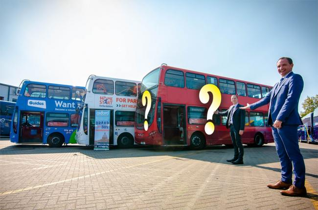 Who will be the next winner in the Brand the Bus competition? Picture Oxford Bus Company