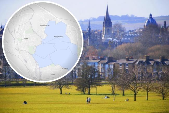 Oxford and Oxfordshire's coronavirus hotspots revealed
