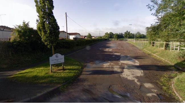 The car park at Grove Rugby Club. Picture: Google Maps