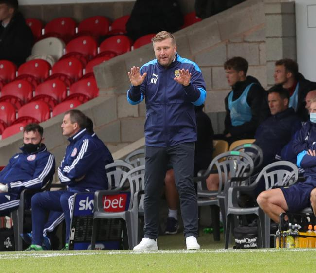 Oxford United will lose out on a large chunk of revenue from playing behind closed doors for the next few months, but it has not forced Karl Robinson to rethink his transfer plans Picture: Richard Parkes