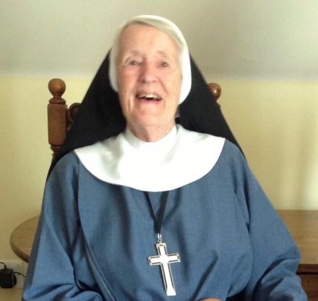 Sister Honor Margaret who died after 65 years living at the Wantage convent
