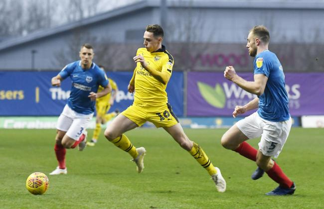 Gavin Whyte spent the 2018/19 season with Oxford United   Picture: David Fleming