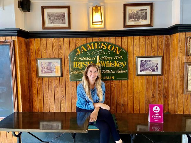 Cassie Jane Fisher, owner of the Half Moon Pub, St Clements