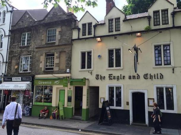 The Eagle and Child, St Giles