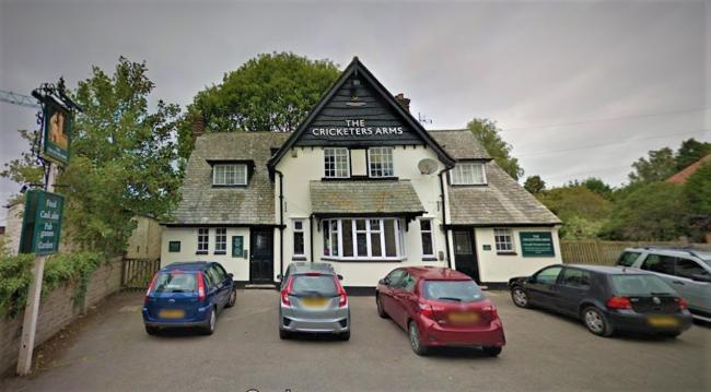 The Cricketers Arms, Temple Road
