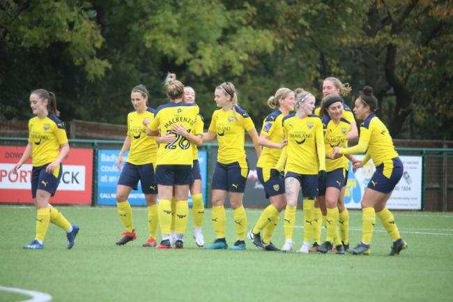 Oxford United Women have scored 19 goals in six games this season   Picture: Darrell Fisher