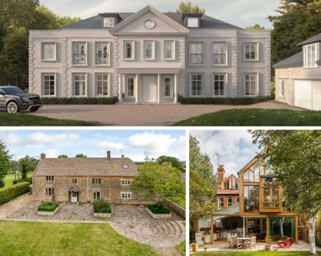 How long would it take you to pay off the mortgage on one of Oxfordshire's most expensive homes? (All images - Zoopla).