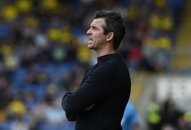 Fleetwood Town boss Joey Barton   Picture: David Fleming