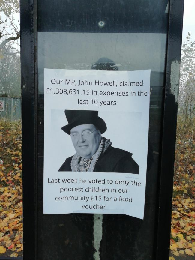 Residents get revenge on Tory MP who voted against free school meals ...
