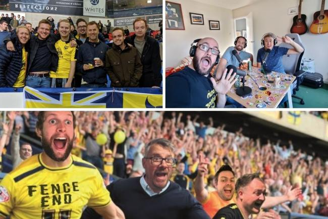 Making a noise - meet the Oxford United podcasters keeping fans connected