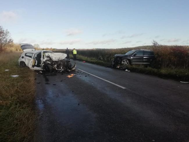 A serious crash earlier this week. Pic Oxfordshire Fire and Rescue