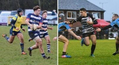 Banbury (left) and Chinnor will clash on the exercise app Strava Pictures: Simon Grieve/Chinnor RFC Thame