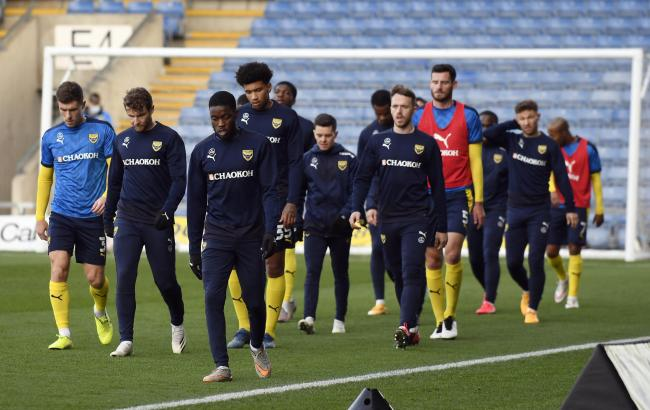 Oxford United's squad have returned some encouraging figures from physical testing on Friday    Pictures: David Fleming