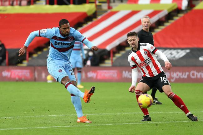 Sebastien Haller was West Ham's match-winner at Sheffield United