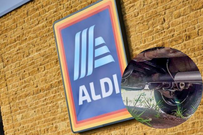 Catalytic convertor thefts in Aldi car park