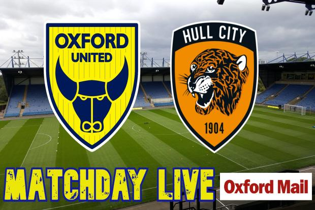 UPDATES: Oxford United v Hull City - live