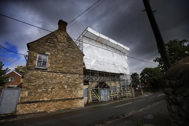 Oxford Mail: Renovation at the Kings Arms in Wheatley began in August after owner Hawthorns received planning permission