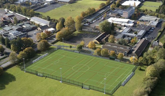 How the Cherwell School 3G pitch may look when finished. Picture: via Oxford City Council