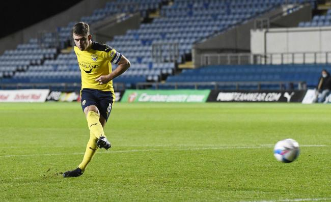 Cameron Brannagan could make his first Oxford United start since October tonight Picture: David Fleming
