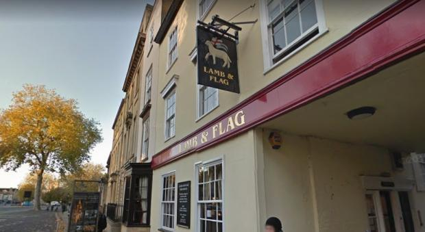 Oxford Mail: The Lamb & Flag in Oxford