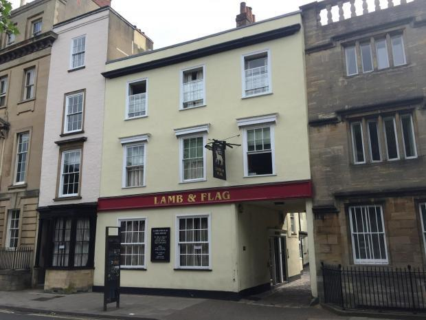 The Lamb & Flag in St Giles