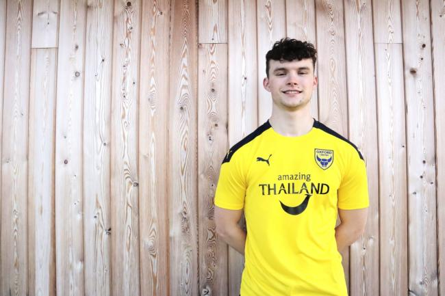 Luke McNally is Oxford United's first signing of the January transfer window Picture: Oxford United