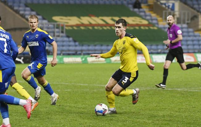 Josh Ruffels is set to make his 300th Oxford United appearance tonight Picture: David Fleming