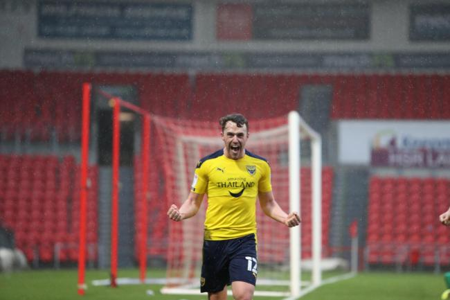 Sam Long has signed a new three-year contract at Oxford United Picture: Steve Edmunds