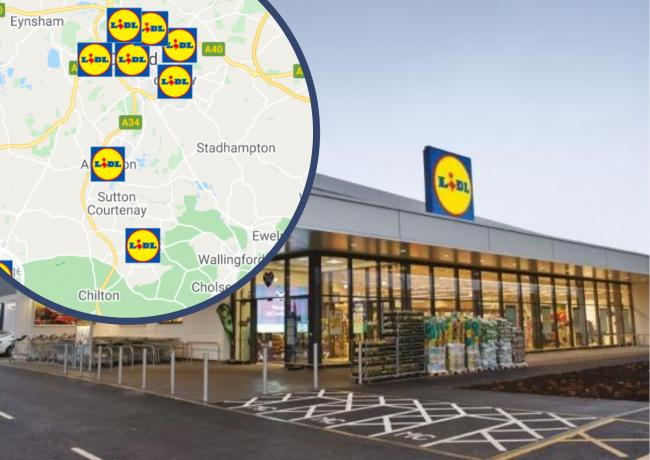 The 15 places in Oxfordshire where Lidl want to build new stores