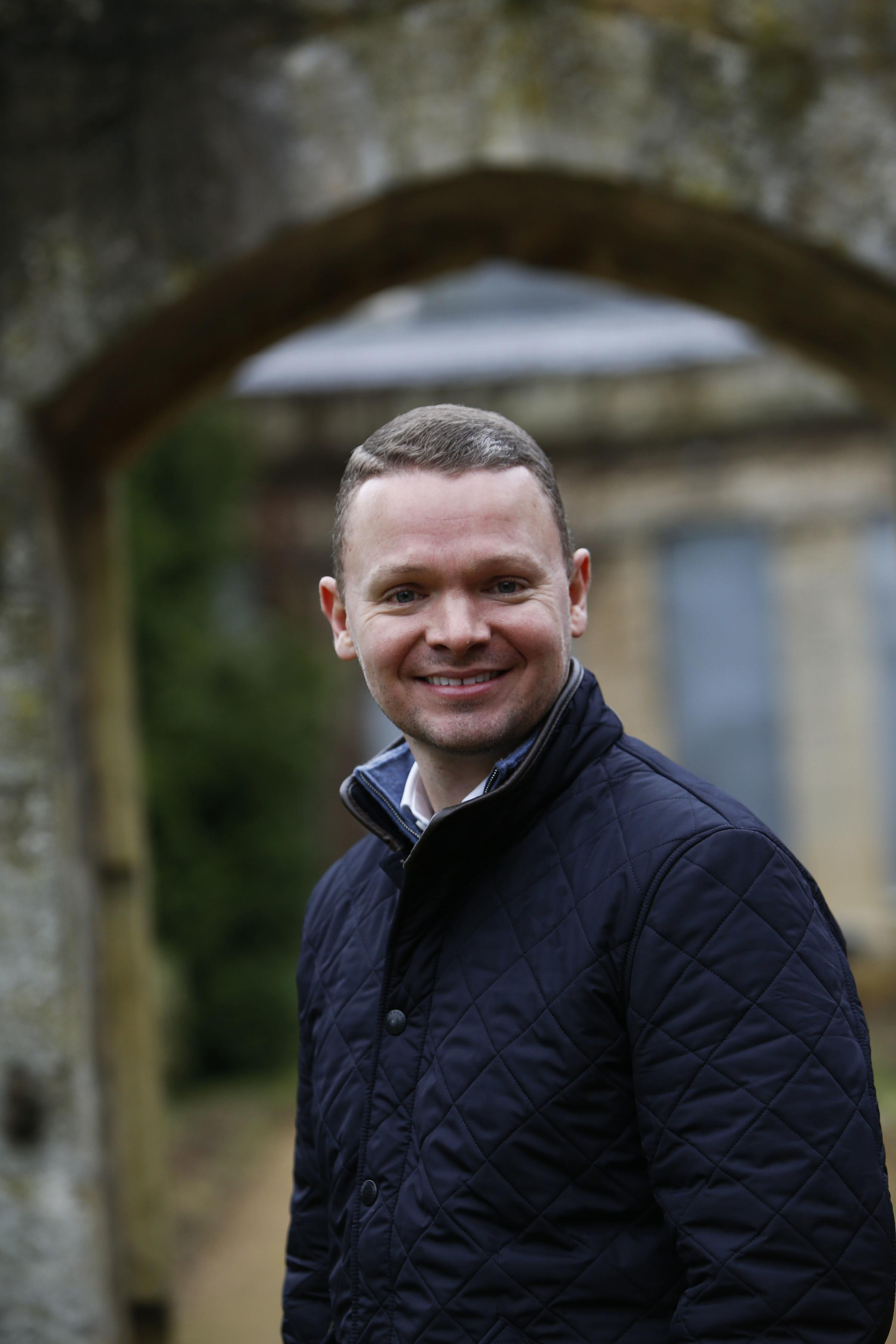 Daniel Ede, of Ede Holdings, the company which wants to transform Old Abbey House into a boutique hotel. Picture: Ed Nix