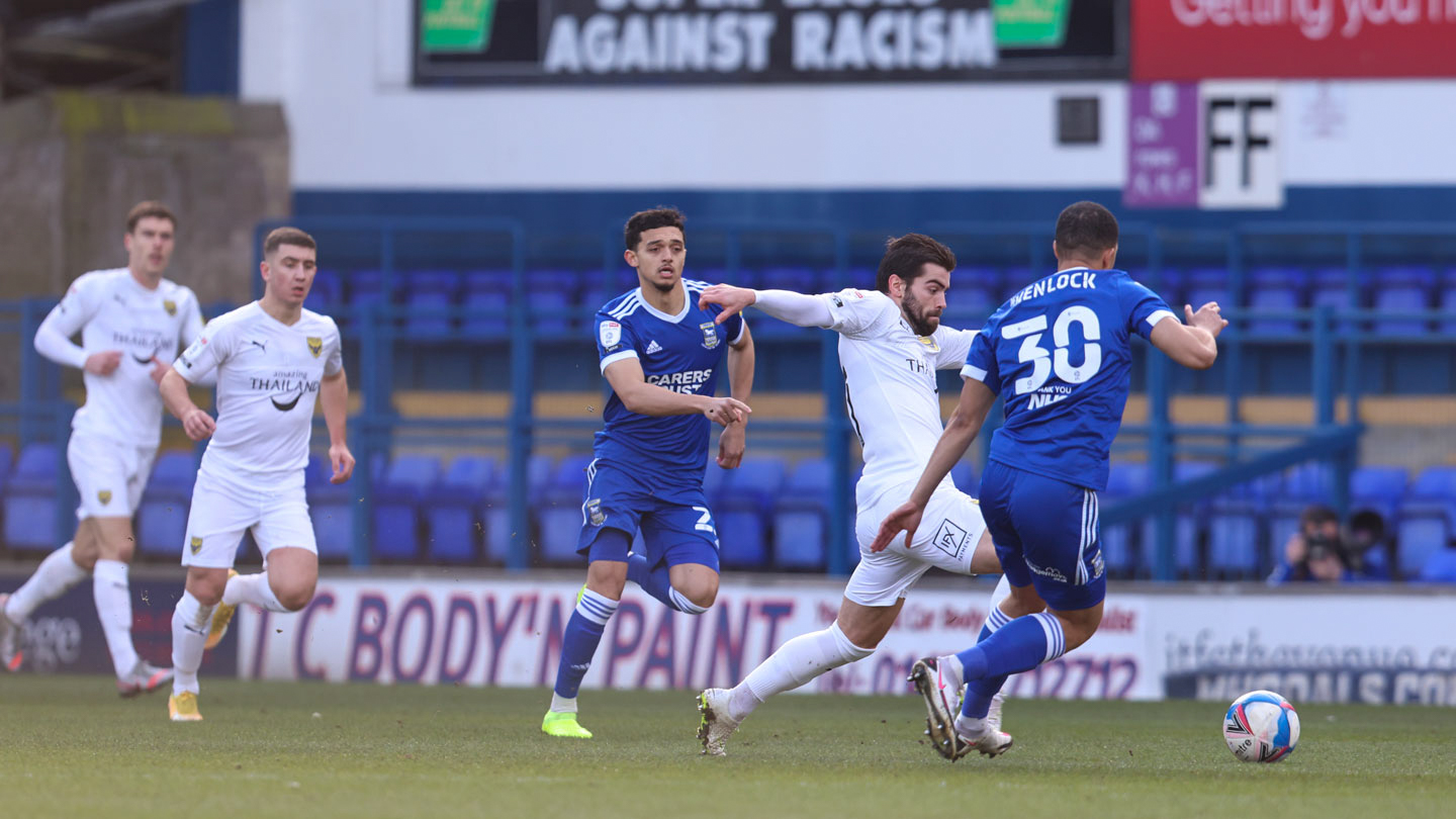 Highlights of Ipswich Town v Oxford United