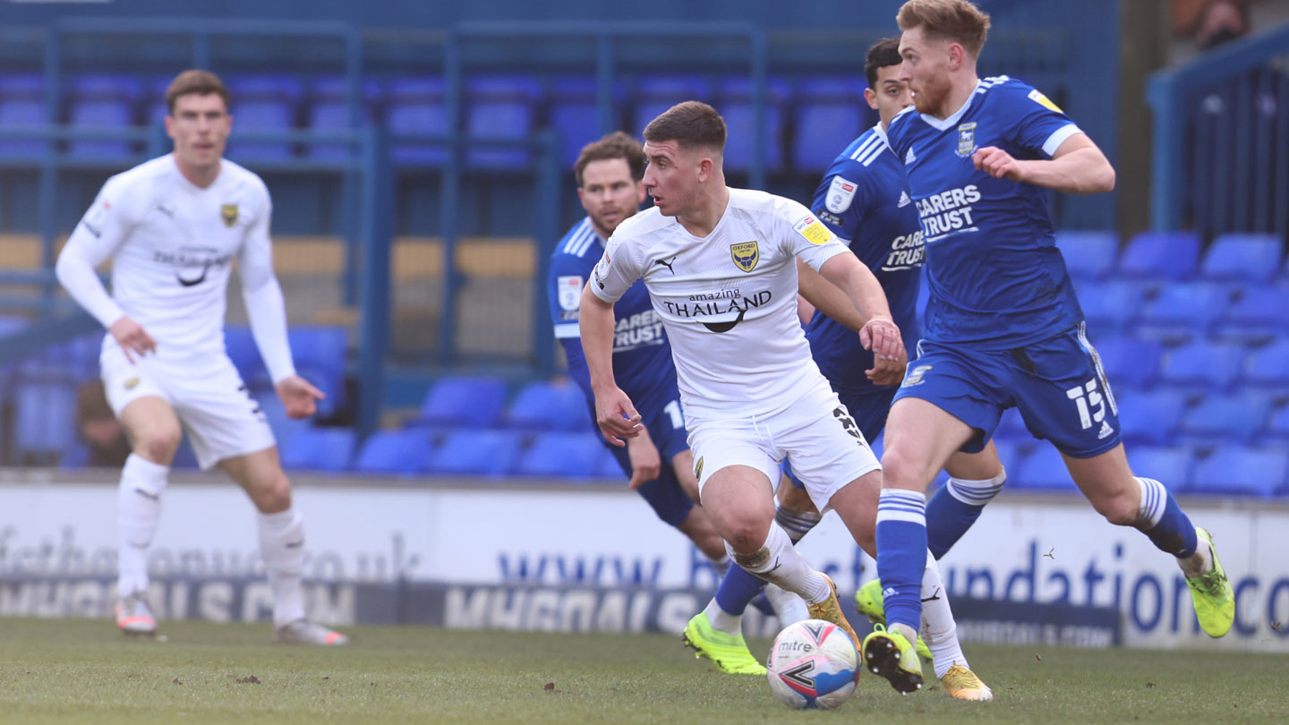 Player ratings for Oxford United's 0-0 draw at Ipswich Town
