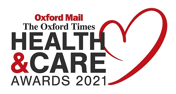 Oxford Mail: Oxfordshire Health & Care Awards 2021 Logo