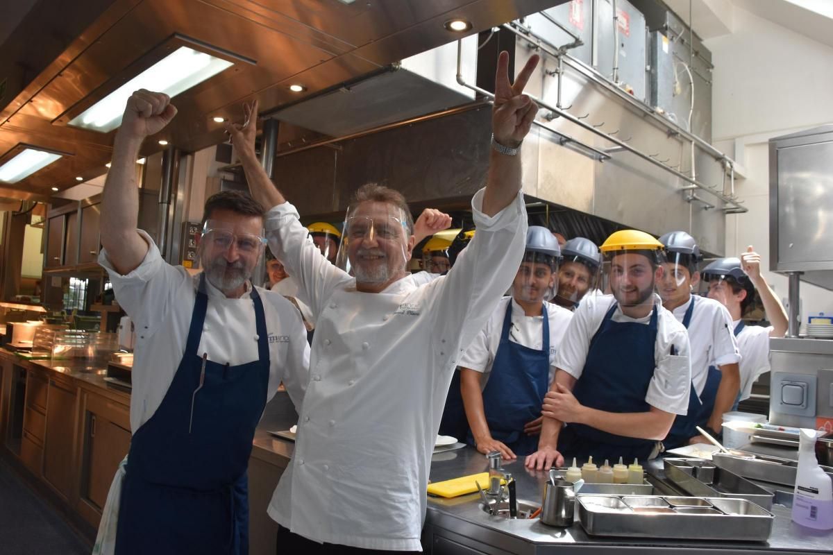 Booked-up Raymond Blanc is thrilled to be back in business