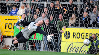 Oxford City keeper Richard Knight is set to get back in action after recovering from a thigh injury