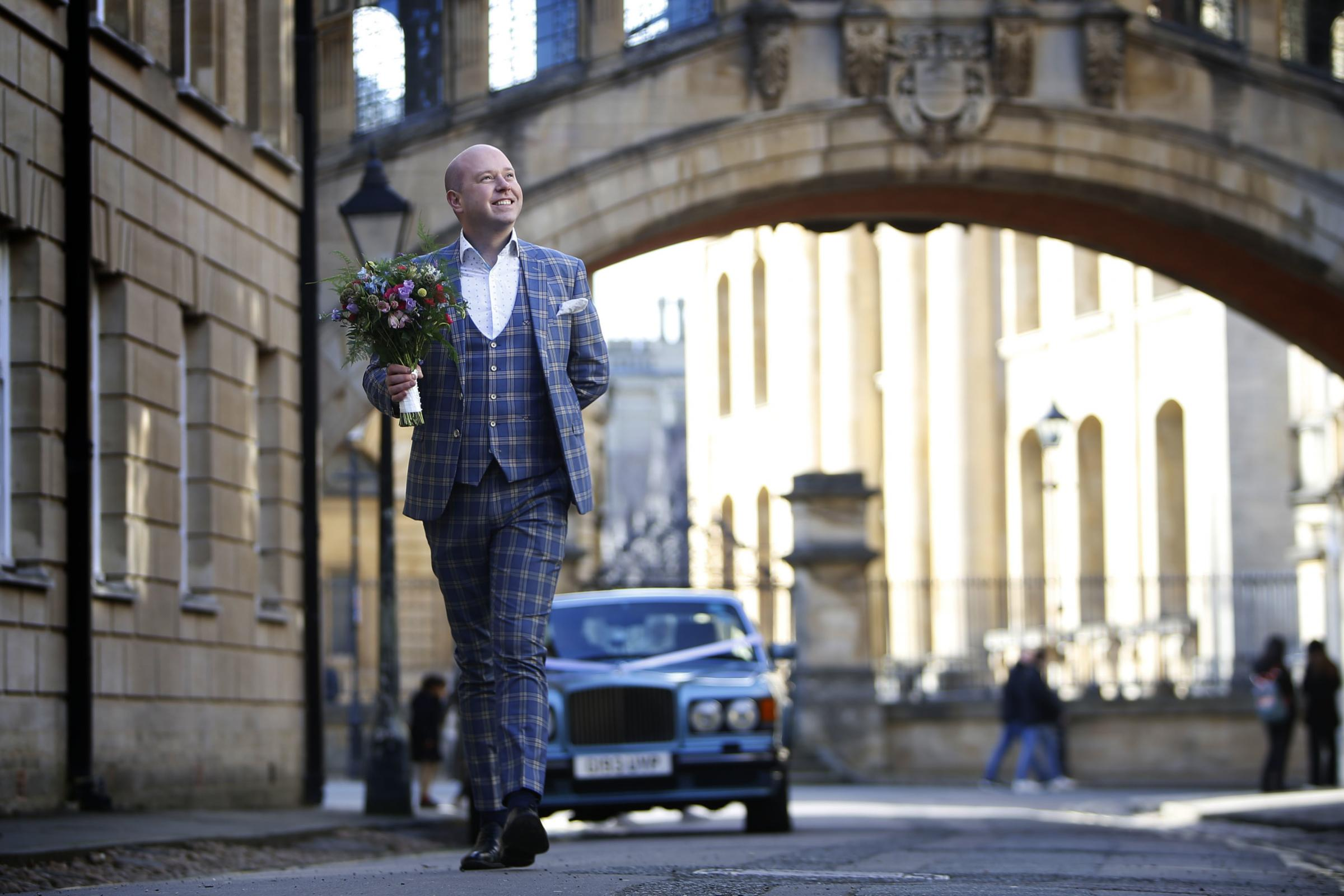 Ask William: concierge William Thomson at Oxfords Bridge of Sighs. Picture by Ed Nix