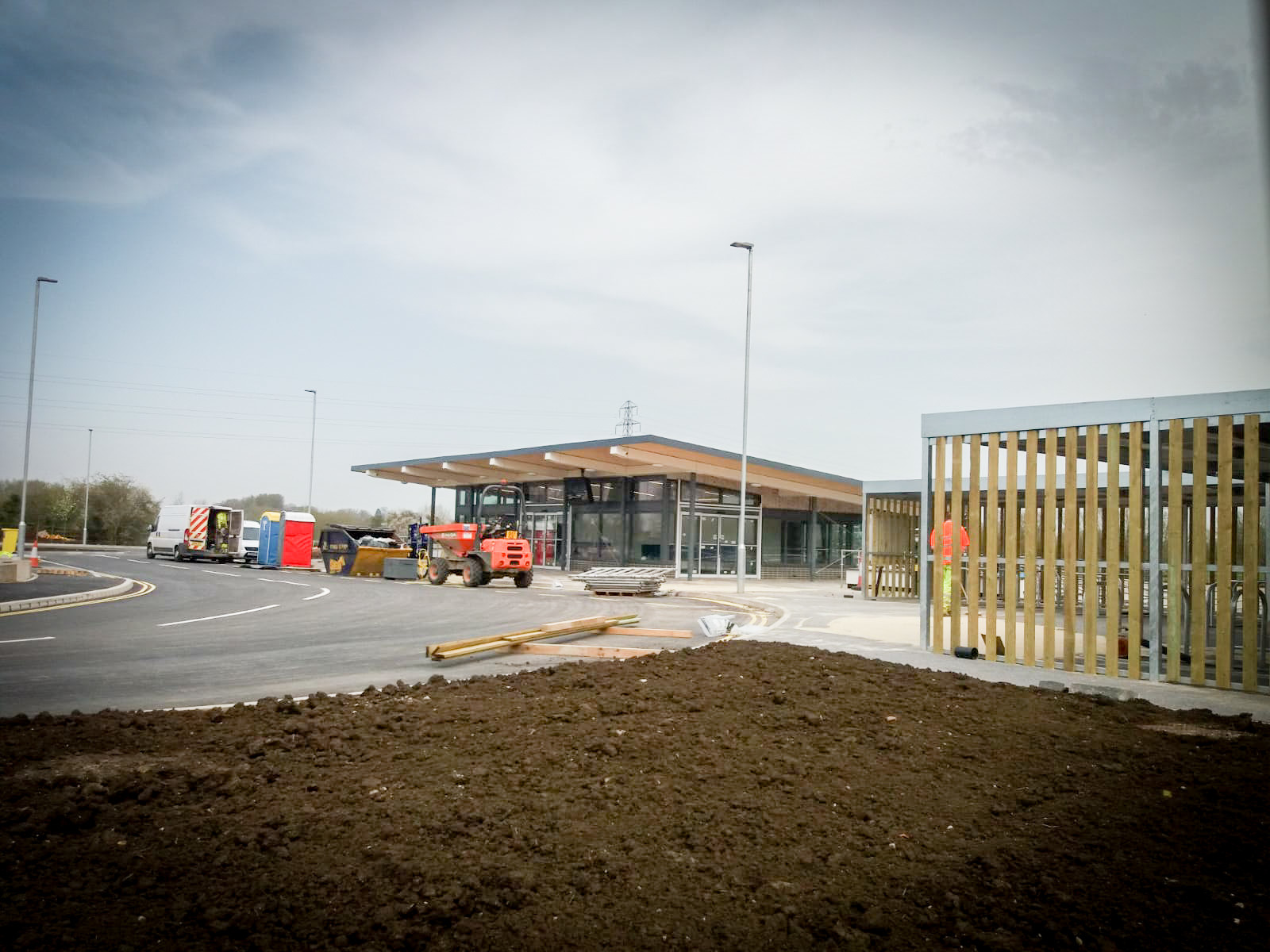 Seacourt Park and Ride extension is due to open on April 12. Picture: Pete Hughes