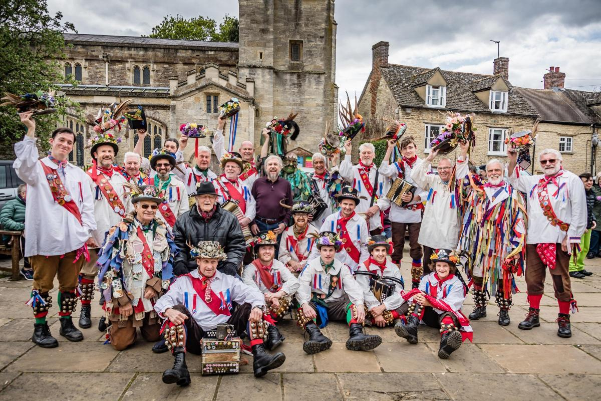 Eynsham Morris in 2019