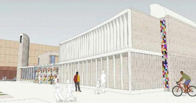 How the new Church of the Holy Family may look when built. Picture: via Oxford City Council