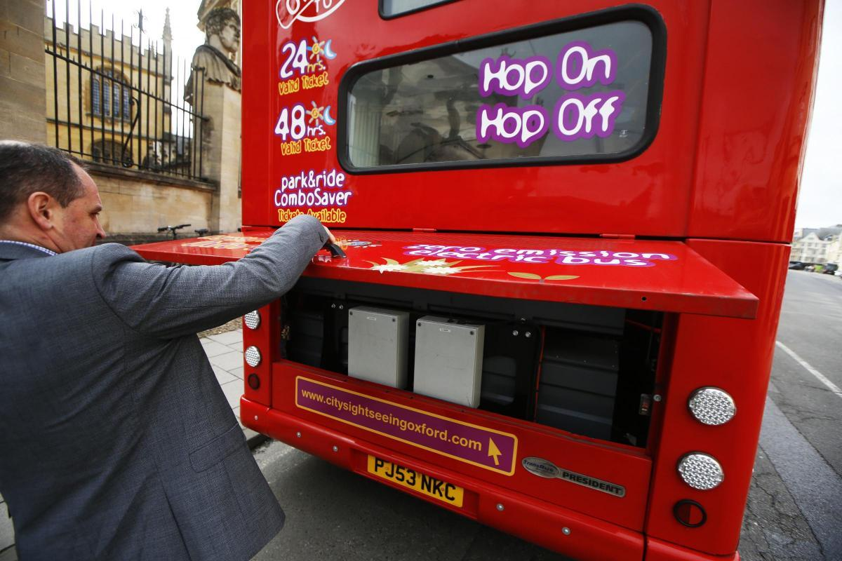 Phil Southall with a City Sightseeing bus in 2020 Picture: Ed Nix