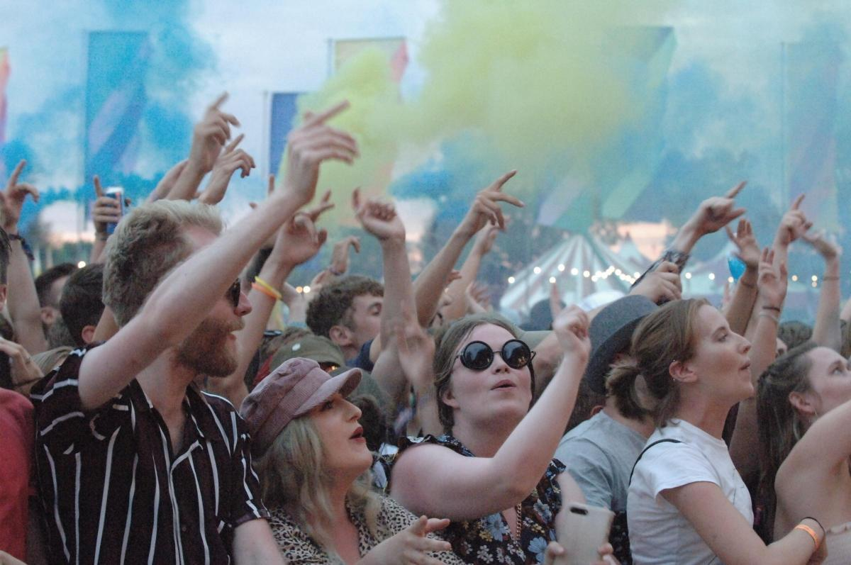 The excitement of Truck Festival