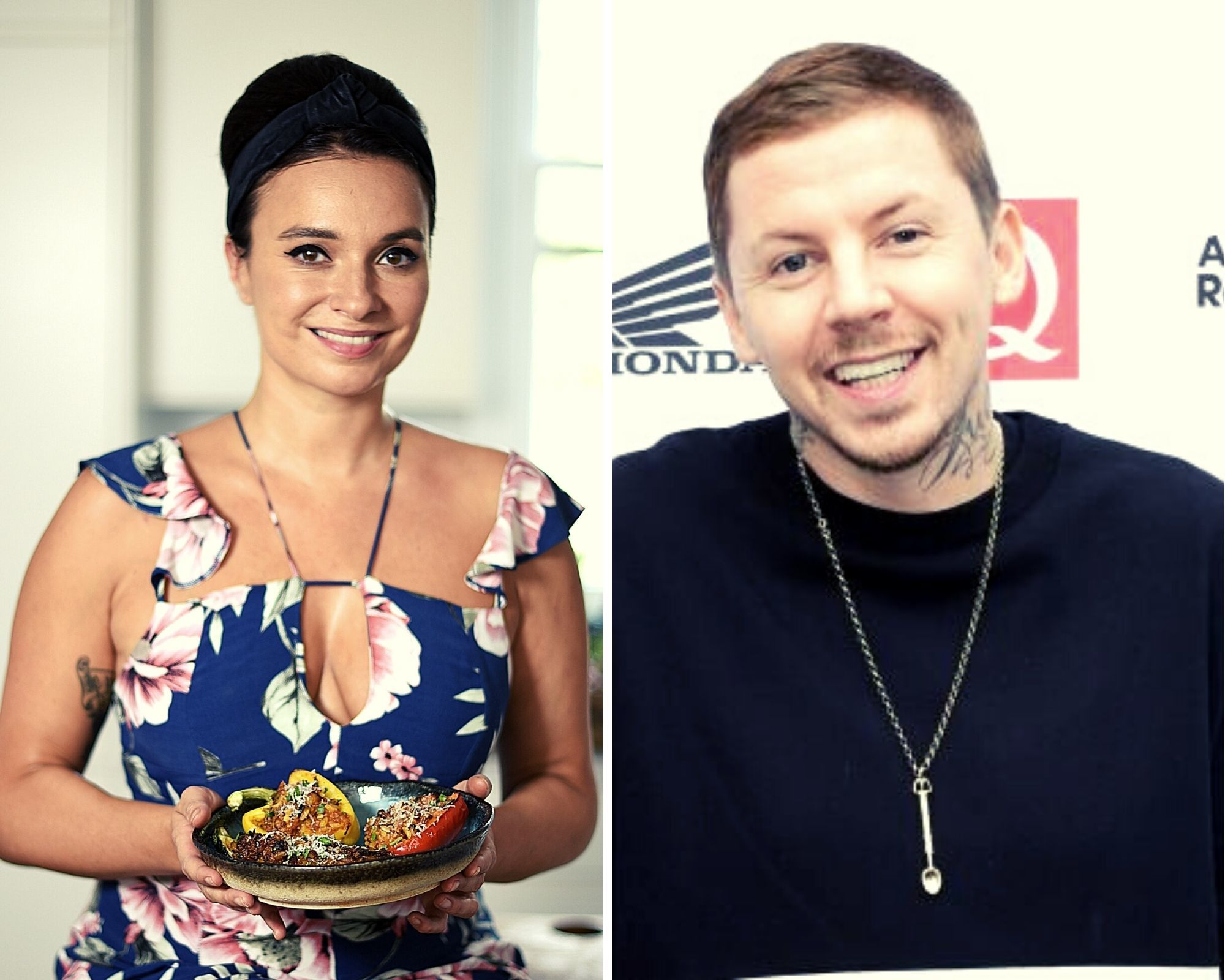 Rapper teams up with TV chef for tasty Feastival duet